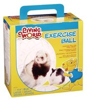 Balle d'exercice Living World