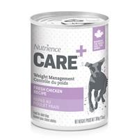 Pâté Nutrience Care Contrôle du pois pour chiens, repas au poulet frais, 369 g (13 oz)