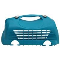 Porte supérieure gauche avec deux attaches pour cage de transport Cabrio Catit, turquoise