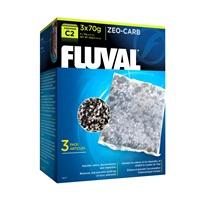 Masse filtrante Zeo-Carb pour filtre à moteur Fluval C2, paquet de 3