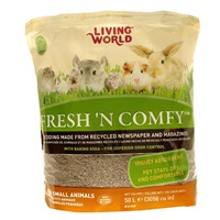 Litière Fresh 'N Comfy Living World, brune, 50 L (3 050 po3)