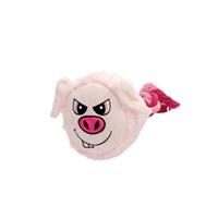 Jouet Stuffies Dogit pour chiens, grosse tête en peluche, cochon, 23cm (9po)