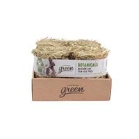Bottes de foin des prés Botanicals Living World Green, nature, paquet de 4 (4 x 150 g)