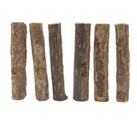 Jouet à gruger Nibblers Living World en bois, bâtonnets en branches d'arbre à kiwis