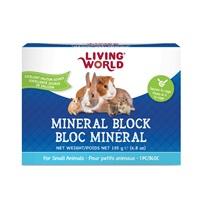 Bloc minéral Living World pour petits animaux, 135g (4,8oz)