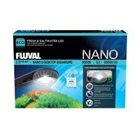 Lampe à DEL Nano Fluval pour eau douce et eau de mer, 6,5W