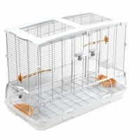 Cage Vision pour oiseaux de grande taille, modèle L01, standard, grillage étroit, 78 x 42 x 56 cm (30,7 x 16,5 x 22 po)