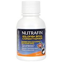 Traitement de l'eau du robinet Goldfish Bowl Conditioner Nutrafin pour poissons rouges, 60ml (2ozliq.)