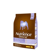 Aliment Nutrience Natural, Poids santé, petite race, Dinde, poulet et hareng, 5 kg