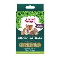 Régals Living World pour petits animaux, pastilles, arôme de pois, 75g (2,6oz)