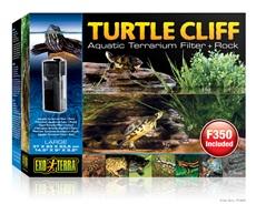 Falaise Exo Terra pour tortues, avec filtre submersible pour aquaterrariums et roche, grande