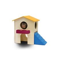 Maisonnette de jeu Playground Living World, petite, 17 x 12 x 15 cm (6,7 x 4,7 x 5,9 po)