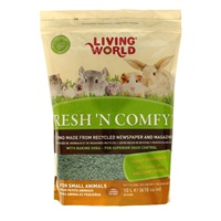 Litière Fresh 'N Comfy Living World, verte, 10 L (610 po cubes)