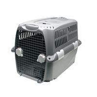 Cage de transport Cargo Dogit Design, grise, moyenne, L.80xl.56xH.58cm (31½ x22x23po)