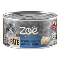 Pâté Zoë avec poulet de ferme pour chats, 85 g (3 oz)