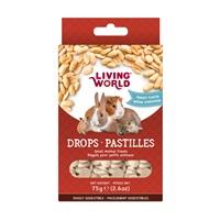 Régals Living World pour petits animaux, pastilles, arôme d'arachide, 75 g (2,6 oz)