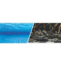 Arrière-plan réversible Marina, paysage marin/nature mystique, H. 61 cm x L. 7,6 m (24 po x 25 pi).