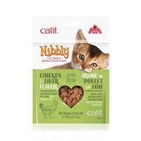 Régals Catit Nibbly pour chats, Poulet et foie, 90g (3,2oz)