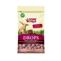 Régals Drops Living World pour lapins, saveur de fruits des champs, 75g (2,6oz)
