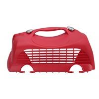 Porte supérieure gauche avec deux attaches pour cage de transport Cabrio Catit, rouge cerise