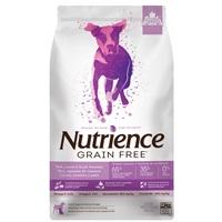 Aliment Nutrience Sans grains pour chiens, Porc, agneau et canard, 10 kg (22 lbs)
