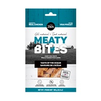 Bouchées Meaty Bites Zeus, Saveurs de l'océan, 150 g (5,3 oz)