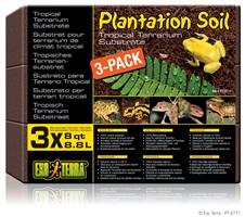 Terre pour plantation Exo Terra, 3 x 8,8L (3 x 8pte)