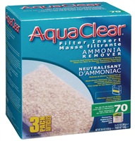 Neutralisant d'ammoniaque pour filtre AquaClear 70/300, 1038g (36,6oz), paquet de 3