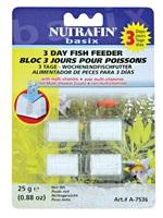 Bloc 3 jours Nutrafin basix pour poissons, 25g (0,88oz)