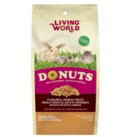 Régals Donuts Living World pour petits animaux, sachet de 150 g (5,3 oz)