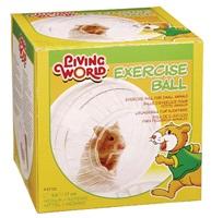 Balle d'exercice Living World avec support, moyenne