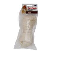 Os noué Dogit en peau de bœuf naturelle, 20cm (8 po), paquet de 1