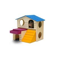 Maisonnette de jeu Playground Living World, grande, 16,5 x 16,5 x 15 cm (6,5 x 6,5 x 5,9 po)