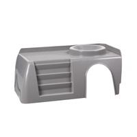 Balcon gris pour habitat de luxe Living World 61857