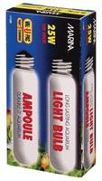 Ampoule incandescente tubulaire Marina, 25 W, paquet de 2