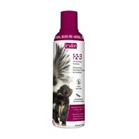 Shampooing 1-2-3 Le Salon éliminateur d'odeur de mouffette, 375 ml (12 oz liq.)