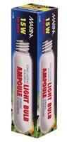 Ampoule incandescente tubulaire Marina, 15 W, paquet de 1