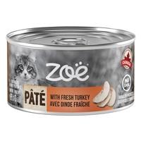 Pâté Zoë avec dinde fraîche pour chats, 85 g (3 oz)