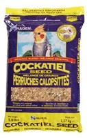 Mélange de graines de base EVM Hagen pour perruches calopsittes, 2,27 kg (5lb)