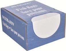Sacs Nutrafin pour poissons, moyens, 22,2 x 53,3 cm (8 3/4 x 21po), boîte de 500