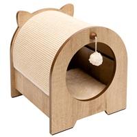 Meuble à griffer Minou Vesper, 36 x 36,5 x 40,5cm (14,17 x 14,37 x 15,94po)