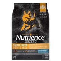 Aliment Nutrience SubZero Sans grains pour chiens de petite race, Vallée du Fraser, 5kg (11lb)
