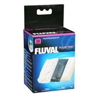 Trousse d'entretien pour filtre à moteur AquaClear 20 Fluval