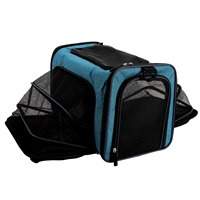 Sac de transport extensible Explorer Dogit, bleu