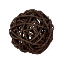Balle V-Ball Vesper Catit, rotin marron