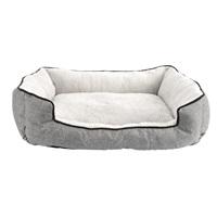 Lit douillet DreamWell Dogit, gris, 62 x 52 x 17 cm (24,5 x 20,5 x 6,5po)