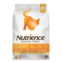 Aliment Nutrience Sans grains pour chats, Dinde, poulet et hareng, 5kg (11 lbs)