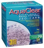 Masses filtrantes Zeo-Carb pour filtre AquaClear 70/300, 540 g (19 oz), paquet de 3