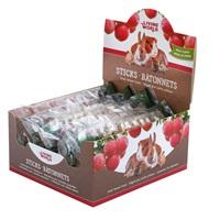 Régals Living World pour petits animaux, bâtonnets, arôme de pomme, 45 g (1,5 oz), paquet de 12