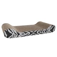 Griffoir Catit Style avec herbe à chat, chaise longue, motif tigré, 49,5 cm (19,5 po)